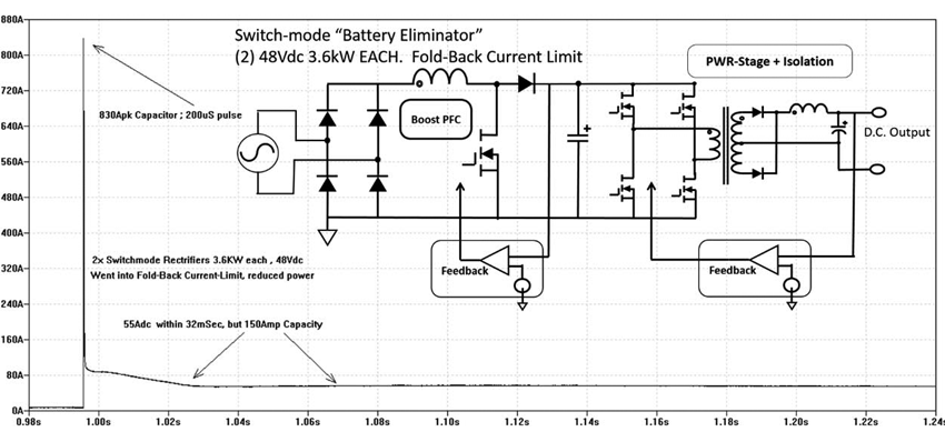 figure 7 Switch Mode Battery Eliminator chargers contribution to a dc arc flash lamarche a46 wiring diagram at mifinder.co