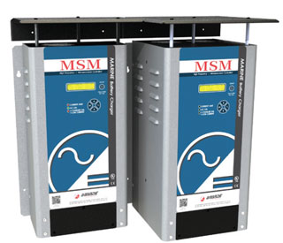 MSM Marine Battery Charger NOW with Modbus Ethernet capabilities